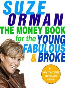 The Money Book for the Young, Fabulous, and Broke by Suze Orman book cover