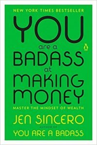 You're a badass at making money book cover