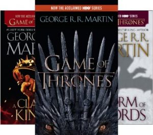 A Song of Ice and Fire book series cover
