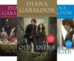 Outlander series book cover