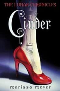 Cinder by Marissa Meyer book cover