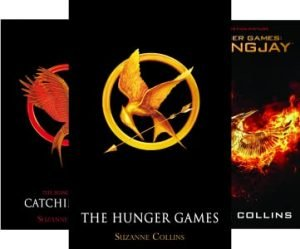 Hunger Games Series by Suzanne Collins book cover