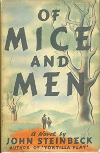 Of Mice and Men by John Steinbeck book cover