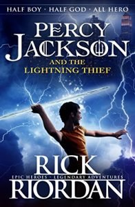 Percy Jackson and the Lightning Thief by Rick Riordan book cover