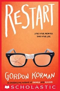 Restart by Gordon Korman book cover