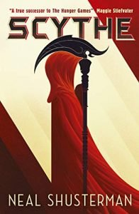 Scythe by Neal Shusterman book cover