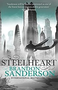 Steelheart by Brandon Sanderson book cover