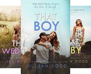 That Boy series by Jillian Dodd book cover