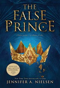 The False Prince by Jennifer A. Nielsen book civer