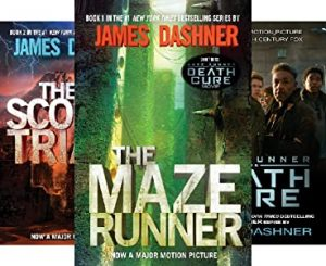The Maze Runner series by James Dashner book cover