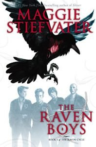 The Raven Boys by Maggie Stiefvater book cover