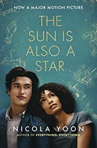 The Sun Is Also a Star by Nicola Yoon book cover