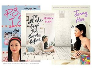 To All the Boys I've Loved Before series by Jenny Han book cover