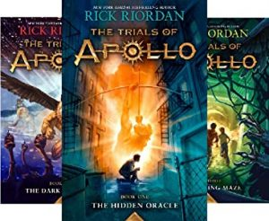 Trials of Apollo Series by Rick Riordan book cover