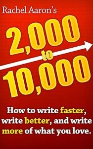 2k to 10k by Rachel Aaron book cover