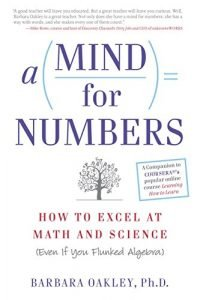 A Mind For Numbers by Barbara Oakley book cover