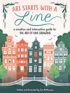 Art Starts with a Line by Erin McManness book cover