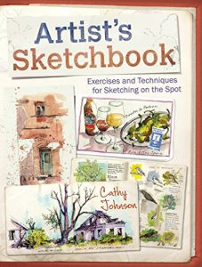 Artist's Sketchbook by Cathy Johnson book cover