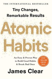 Atomic Habits by James Clear book cover