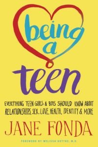 Being a Teen by Jane Fonda book cover