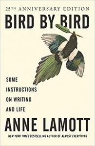 Bird by Bird by Anne Lamott book cover