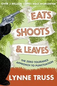 Eats, Shoots, & Leaves by Lynne Truss book cover