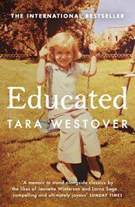Educated- A Memoir by Tara Westover book cover