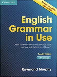 English Grammar in Use by Raymond Murphy book cover