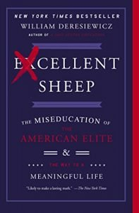 Excellent Sheep by William Deresiewicz book cover