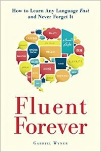 Fluent Forever by Gabriel Wyner book cover