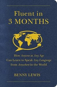 Fluent in 3 Months by Benny Lewis book cover