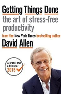 Getting Things Done by David Allen book cover