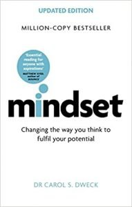 Mindset by Carol S. Dweck book cover