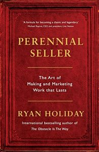 Perennial Seller by Ryan Holiday book cover
