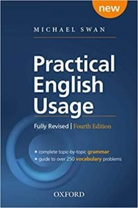 Practical English Usage by Michael Swan book cover