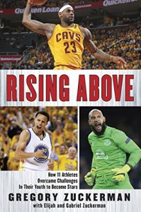 Rising Above by Gregory Zuckerman book cover