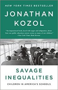 Savage Inequalities by Jonathan Kozol book cover