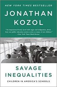 Savage Inequalities by Jonathan Kozol book cover
