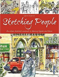 Sketching People by Lynne Chapman book cover