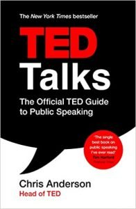 TED Talks- The Official TED Guide to Public Speaking by Chris Anderson book cover