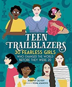 Teen Trailblazers by Jennifer Calvert book cover