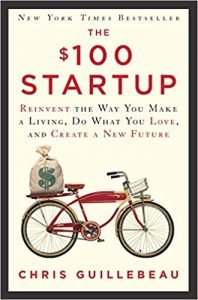 The $100 Startup by Chris Guillebeau book cover