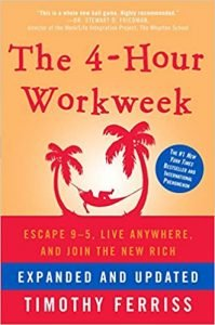 The 4-Hour Workweek by Tim Ferriss book cover