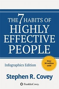 The 7 Habits of Highly Effective People by Stephen Covey book cover