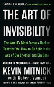 The Art of Invisibility by Kevin Mitnick book cover
