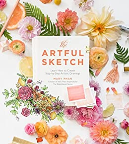 The Artful Sketch by Mary Phan book cover