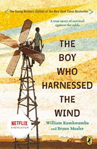 The Boy Who Harnessed the Wind, Young Reader's Edition by William Kamkwamba book cover