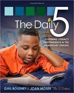 The Daily 5 by Gail Boushey and Joan Moser book cover