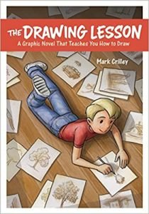 The Drawing Lesson by Mark Crilley book cover