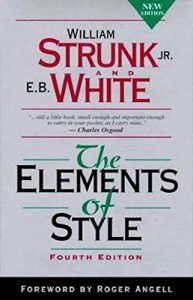 The Elements of Style by William Strunk Jr. book cover